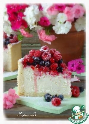 Рецепт Немецкий творожный торт