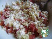 Салат с плавленым сыром и сухариками ингредиенты