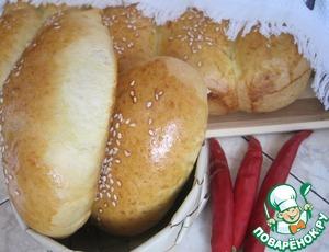 Рецепт Закусочные пирожки с курицей и овощами
