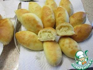 Рецепт Пирожки с капустной начинкой от моей бабушки (прабабушки, прапрабабушки...)