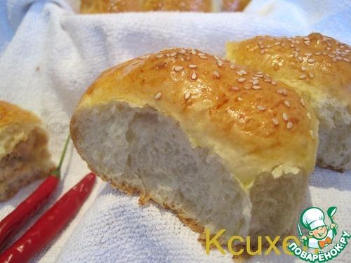 Закусочные пирожки с курицей и овощами – кулинарный рецепт