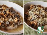 Скумбрия с грибами и креветками ингредиенты