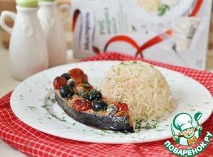 Рыба, запеченная с овощами домашний рецепт приготовления с фото как готовить