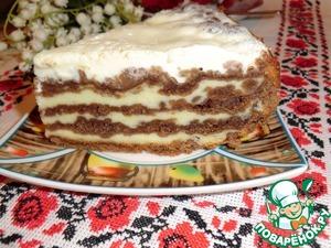 Рецепт Многослойный пирог со штрейзелем