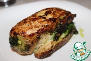 Рецепт Куриная грудка, фаршированная шпинатом