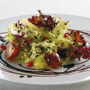 Салат из граната с виноградом рецепт с фото готовим