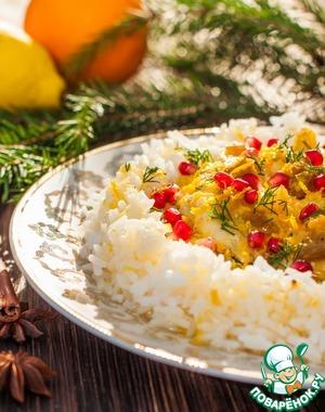 Рецепт Рулет из рыбы в апельсиново-лимонном соусе