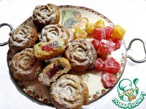 Рецепт Греческое постное печенье с лукумом