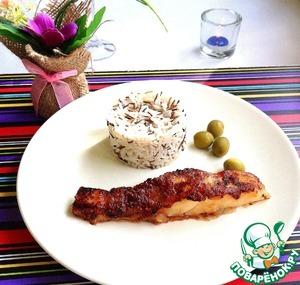Рецепт Филе трески в остром маринаде