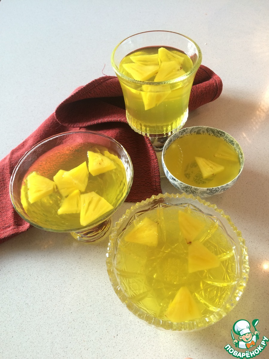 Яблочное желе - пошаговый рецепт с фото на Повар. ру 20