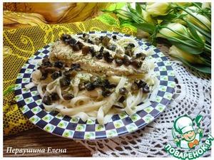 Рецепт Камбала под сырным соусом