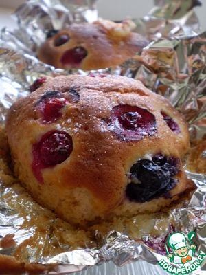 Рецепт Маффин с ягодами
