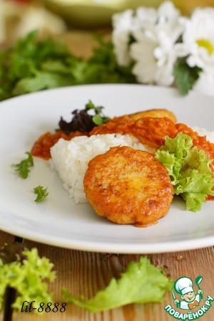 Рецепт Котлеты из судака в томатном соусе