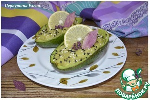 Рецепт Десерт из авокадо со сливками