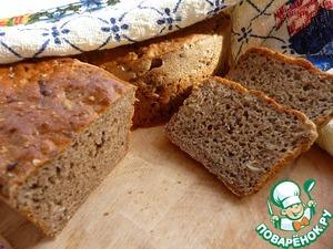 Рецепт Ароматный ржаной хлеб на закваске