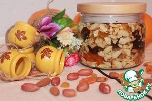 """Рецепт Восточная сладость """"Орехи в меду"""""""