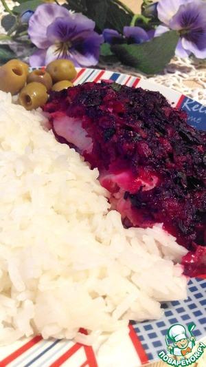 Треска под шубой простой рецепт приготовления с фотографиями пошагово как приготовить