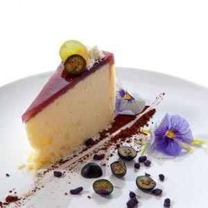 Рецепт Сырное пирожное с черникой