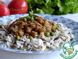 Рецепт Рагу из трески с рисом
