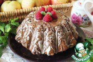 Рецепт Кекс с финиками, кешью и шоколадной глазурью