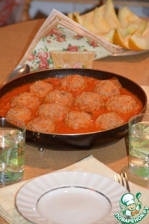 Как приготовить простой рецепт с фото Тефтели в томатном соусе