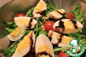 Рецепт Салат с тунцом и зеленью