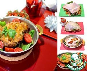 Рецепт Глянцевое мясо на сковороде