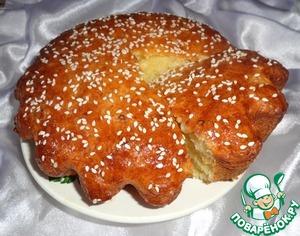 Рецепт Творожный кекс с медовым ароматом и рисовыми хлопьями