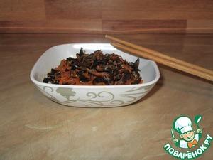 Рецепт Салат из древесных грибов по-восточному