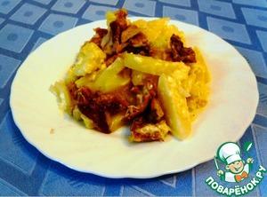 Как приготовить Курица с картофелем в мультиварке домашний рецепт приготовления с фото пошагово