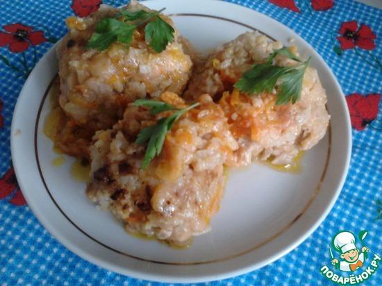 Куриные тефтели в томатном соусе. Пошаговый рецепт с фото