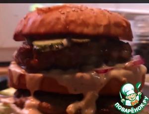 "Рецепт Гамбургер ""Бигмак"""