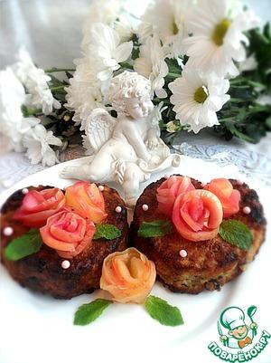 """Рецепт Овсяно-творожные кексы с яблоками """"Завтрак для любимого"""""""