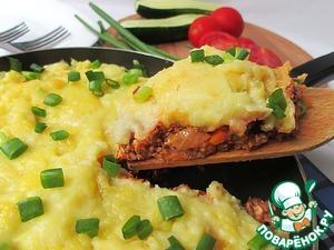Рецепт Шефердский картофельный пирог с мясом