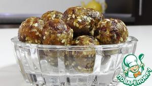 Рецепт Ладду из сухофруктов