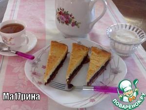 """Рецепт Творожной пирог """"Лавина"""""""