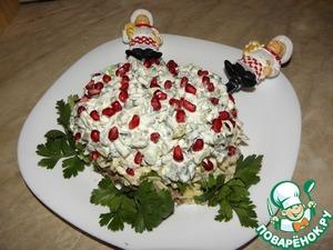 Рецепт Салат с бараниной