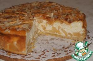 Рецепт Яблочный пирог с творожным суфле