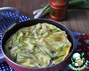Рецепт Жареная рыба с картофелем