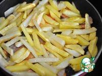 Жареная рыба с картофелем ингредиенты