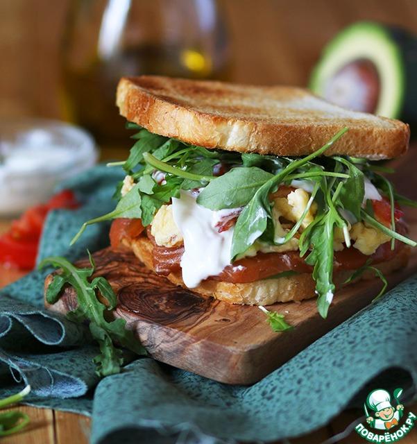 Как сделать сэндвич на сковороде