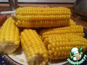 Рецепт Выбор и приготовление сладкой кукурузы