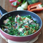 Рыбное рагу с овощами и тмином