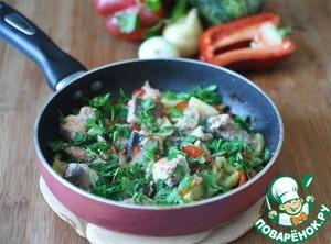 Рецепт Рыбное рагу с овощами и тмином