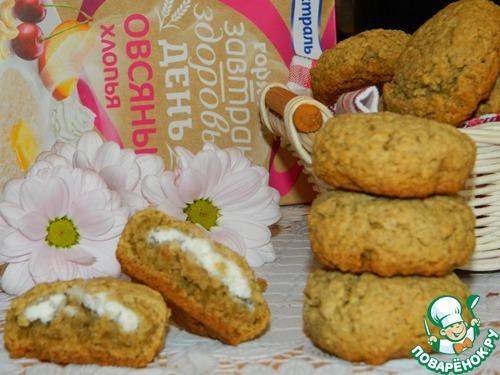Овсяное печенье с творогом рецепт пошагово