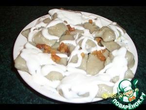Рецепт Ленивые вареники с картошкой