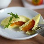 Сырники на пару с фруктовой начинкой «Открытие»