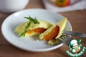 Рецепт Сырники на пару с фруктовой начинкой