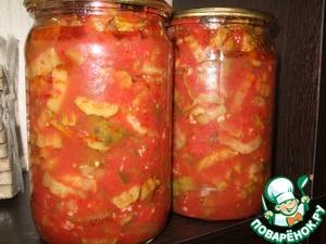 Рецепт Огурцы в томате