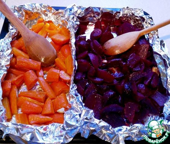 Салат с морковью сыром и яблоком рецепт
